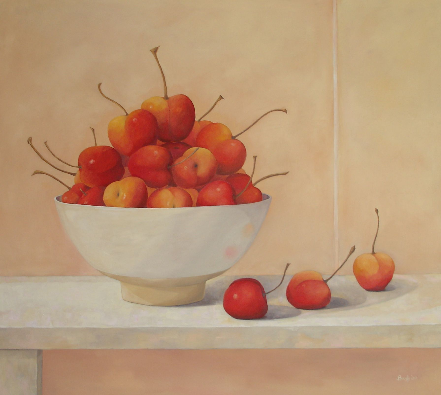Rainier Cherries 36 x 40 in