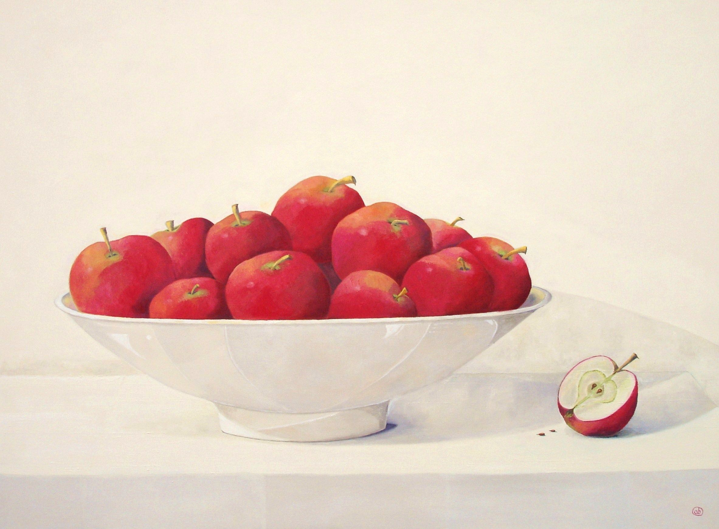Red Apples 2013 30 x 40 in
